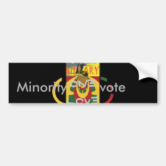 Hillary USA  Stronger Together Vote One Love For H Bumper Sticker