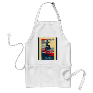 Hillary USA we are stronger together Adult Apron