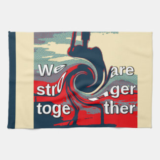 Hillary USA we are stronger together Hand Towels