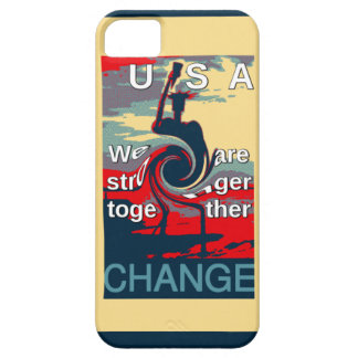 Hillary USA we are stronger together iPhone SE/5/5s Case