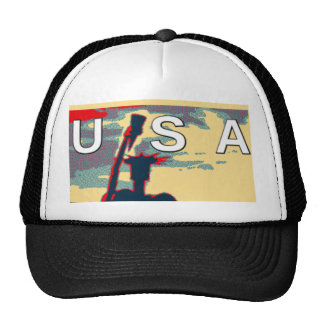 Hillary USA we are stronger together Trucker Hat