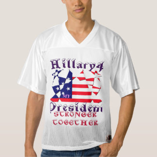 Hillary we are stronger together men's Sportswear Men's Football Jersey