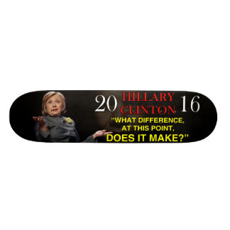 HILLARY WHAT DIFFERENCE SKATEBOARD DECK