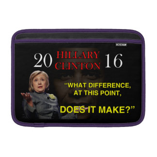 HILLARY WHAT DIFFERENCE SLEEVES FOR MacBook AIR