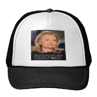 Hillary Women Resource Quote Trucker Hat