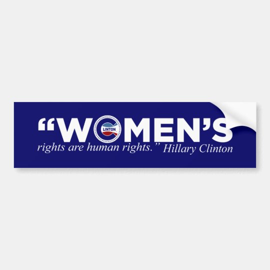 Bumper Stickers For Women's Rights