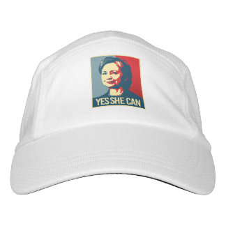 hillary - yes she can - -  hat