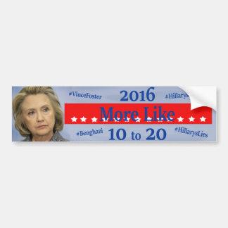 Hillary's Troubles Bumper Sticker