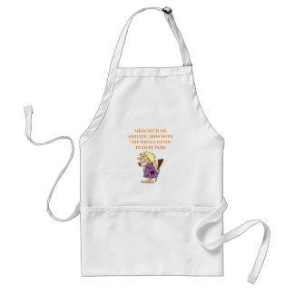 hillbilly adult apron