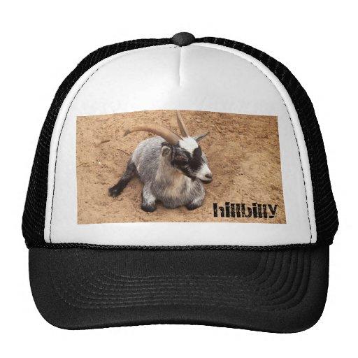 hillbilly billygoat trucker hat