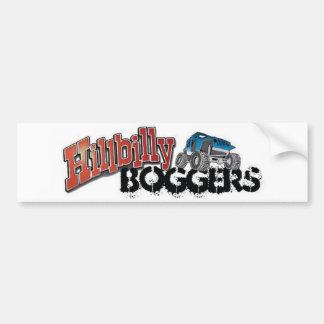 Hillbilly Boggers Car Bumper Sticker