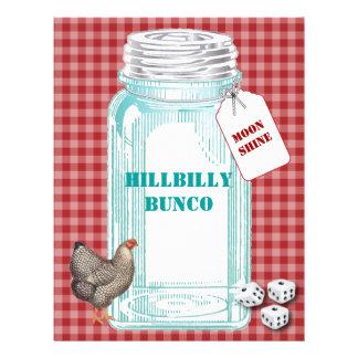 HIllbilly Bunco Flyer
