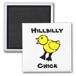 Hillbilly Chick Fridge Magnet