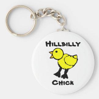 Hillbilly Chick Keychain