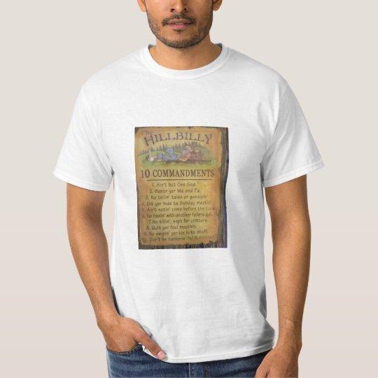 Hillbilly Comandments T-Shirt