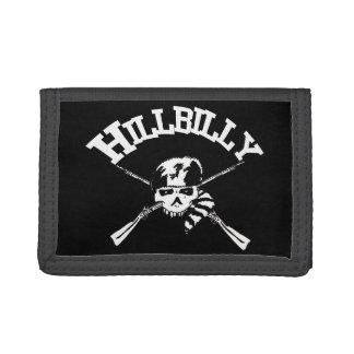 Hillbilly Crossbones Tri-fold Wallet