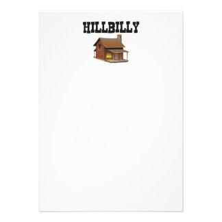 Hillbilly de la CAMISETA Invitaciones Personales