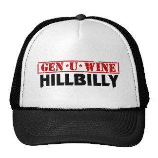 Hillbilly del vino de la GEN U Gorro De Camionero