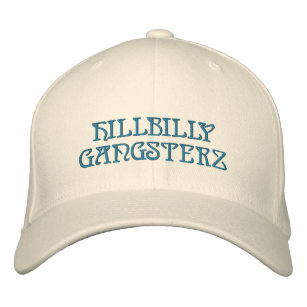 HILLBILLY GANGSTERZ EMBROIDERED BASEBALL HAT b4f3c604cc1