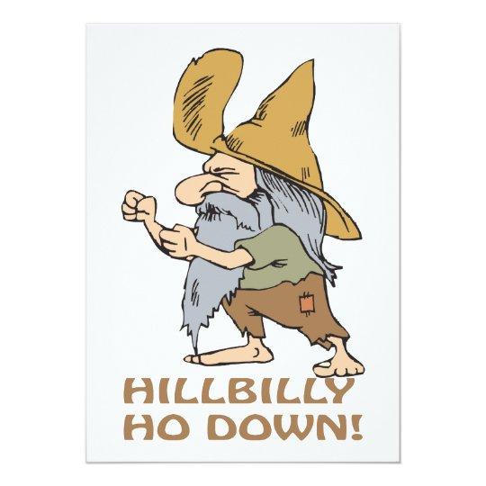 HillBilly Ho Down Card