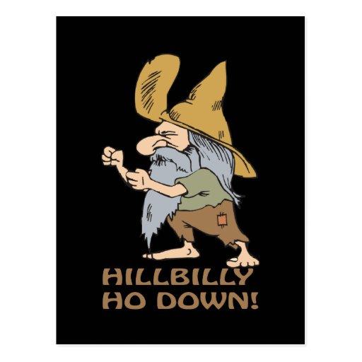 HillBilly Ho Down Postcard