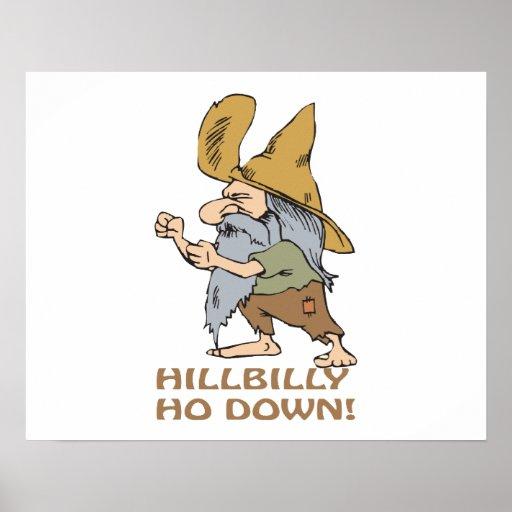 HillBilly Ho Down Poster