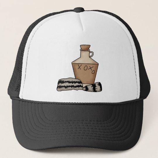 hillbilly-jug and hat