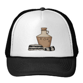 hillbilly-jug and hat
