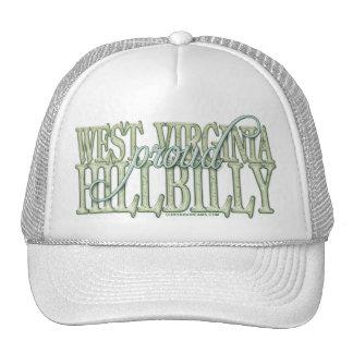 Hillbilly orgulloso de Virginia Occidental Gorros