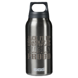 Hillbilly Proud Insulated Water Bottle