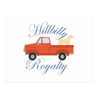 Hillbilly Royalty Postcard