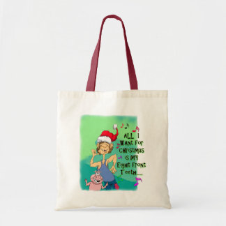 Hillbilly singing about my eight front teeth canvas bags