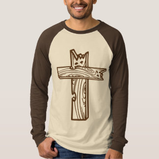 Hillbilly Ten Comandments and a Cross T-Shirt