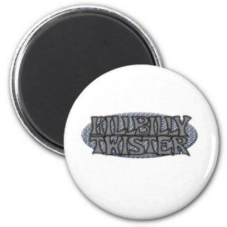 Hillbilly Twister Refrigerator Magnets