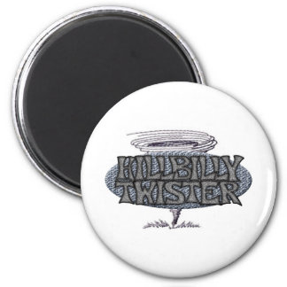 Hillbilly Twister Tornado Magnet