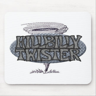 Hillbilly Twister Tornado Mouse Pad