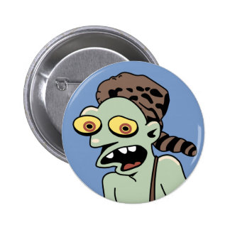 Hillbilly Zombie 2 Inch Round Button