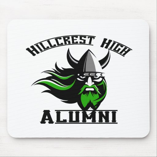 Hillcrest High Alumni Mouse Pad