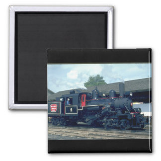Hillcrest Lumber Co. Climax type_Trains Magnet