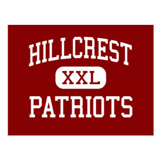 Hillcrest - Patriots - High - Tuscaloosa Alabama Postcard