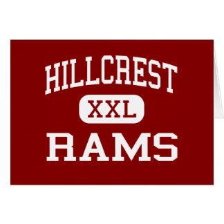 Hillcrest - Rams - High - Simpsonville Cards