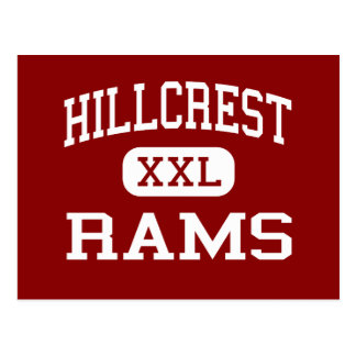 Hillcrest - Rams - High - Simpsonville Postcard