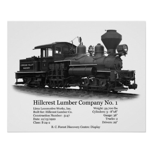 Hillcrest Shay No. 1 Poster