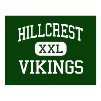 Hillcrest - Vikings - High - Memphis Tennessee Postcard