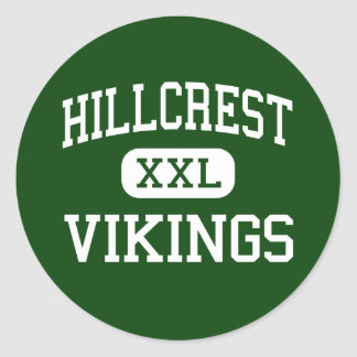 Hillcrest - Vikings - High - Memphis Tennessee Stickers
