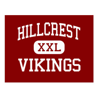 Hillcrest - Vikings - Junior - El Paso Texas Postcard