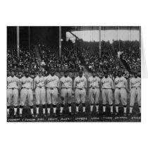 Hilldale Club baseball team Colored World Series Card