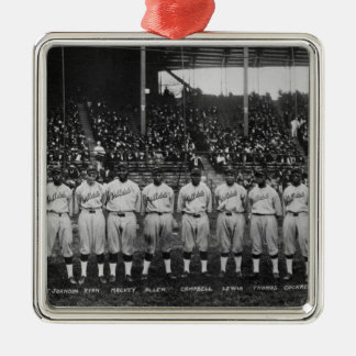 Hilldale Club baseball team Colored World Series Metal Ornament