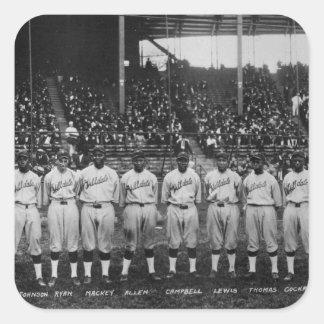 Hilldale Club baseball team Colored World Series Square Sticker