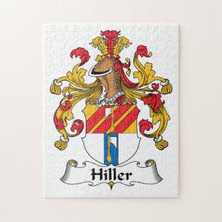 Hiller Family Crest Puzzle
